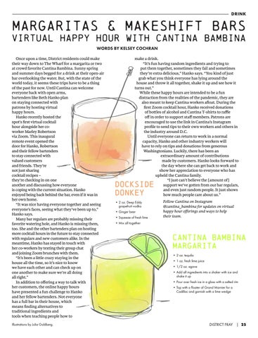 Page 27 of DRINK // Margarita's & Makeshift Bars: Virtual Happy Hour with Cantina Bambina