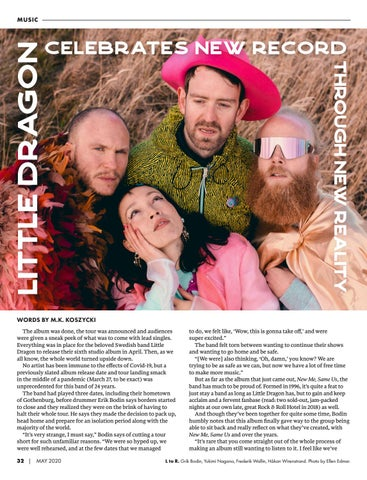 Page 34 of MUSIC // Little Dragon Celebrates New Record Through New Reality