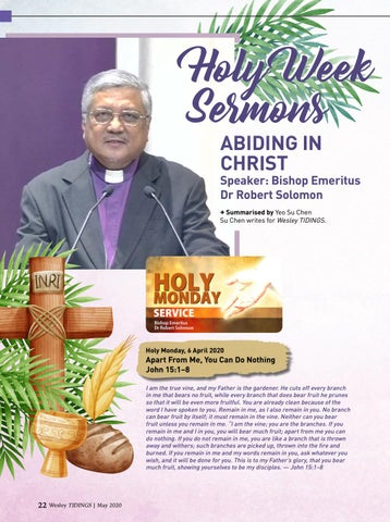 Page 22 of Holy Week Sermons
