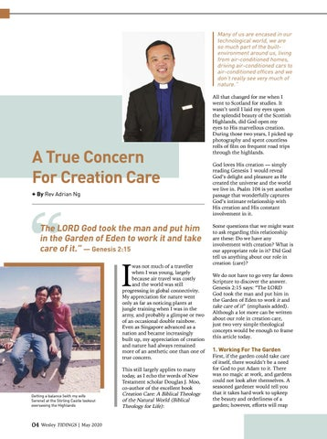 Page 4 of From Our Pastor