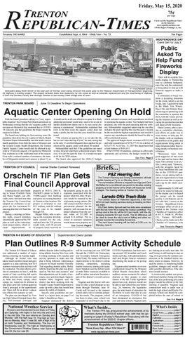 Trenton R Times 05 15 2020 By Gallatin Publishing Company Issuu