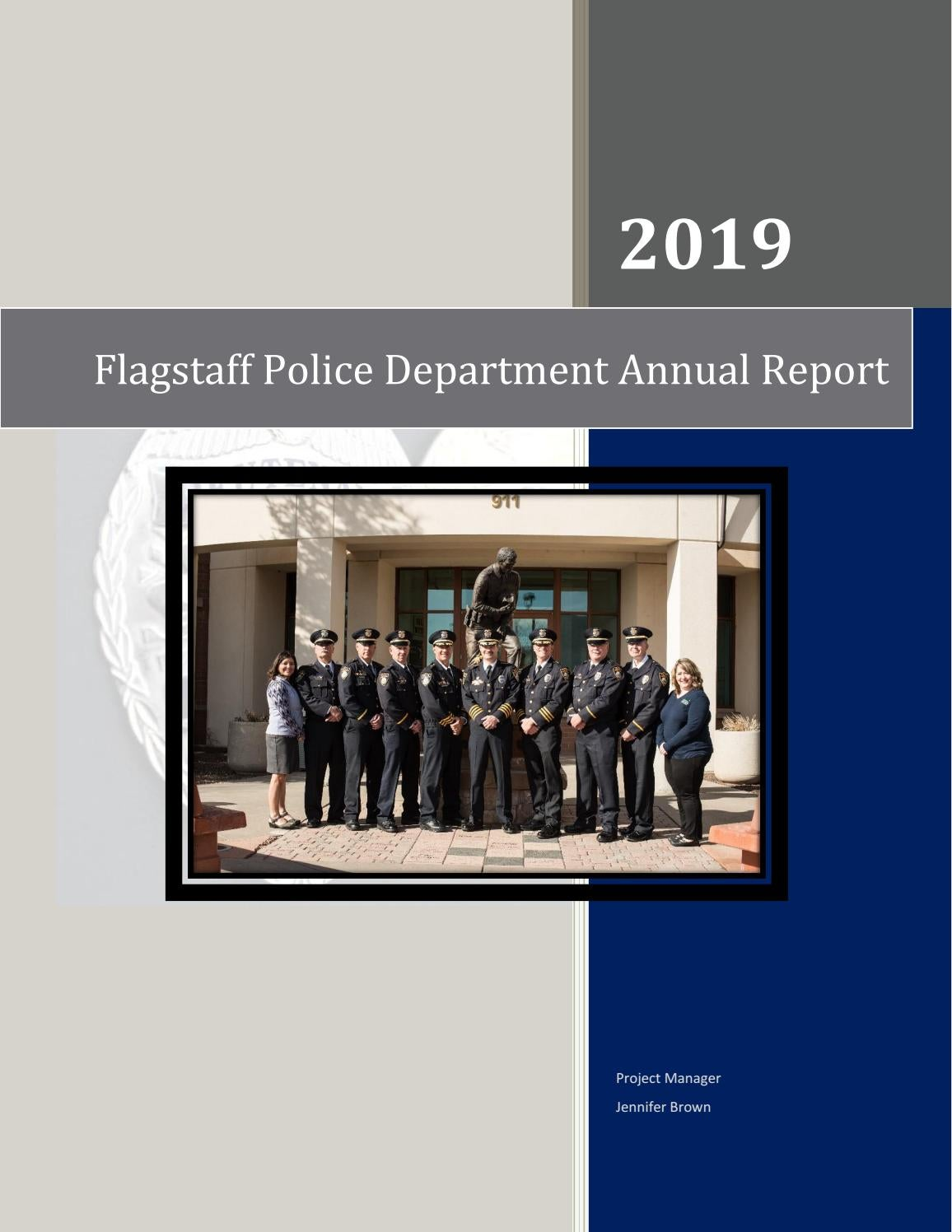 2019 Flagstaff Police Department Annual Report By Jbrown22599 Issuu