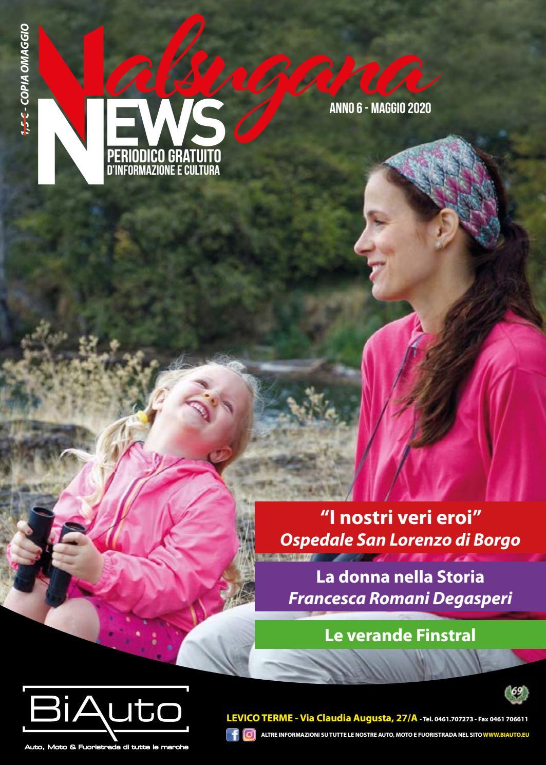 Valsugana News Maggio 2020 By Edizioni Printed Issuu