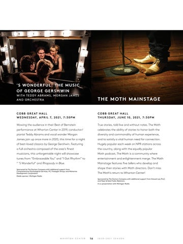 Page 18 of Performing Arts at Wharton Center: Jazz