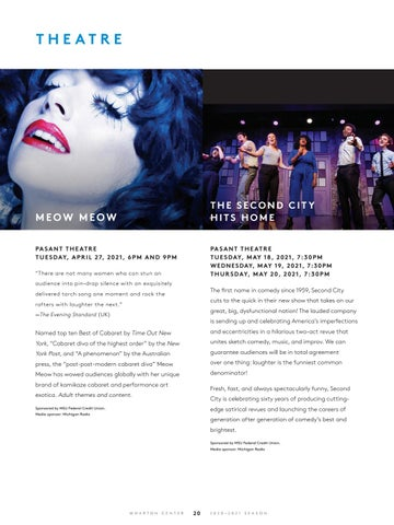 Page 22 of Performing Arts at Wharton Center: Theatre