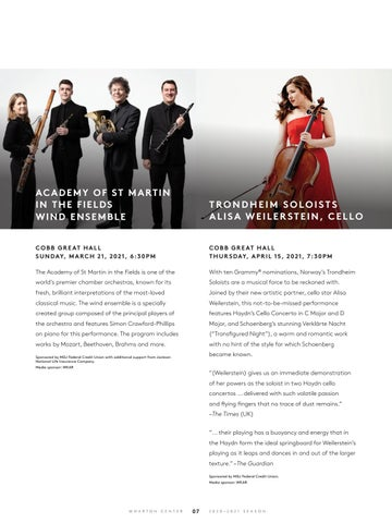 Page 9 of Performing Arts at Wharton Center: Classical