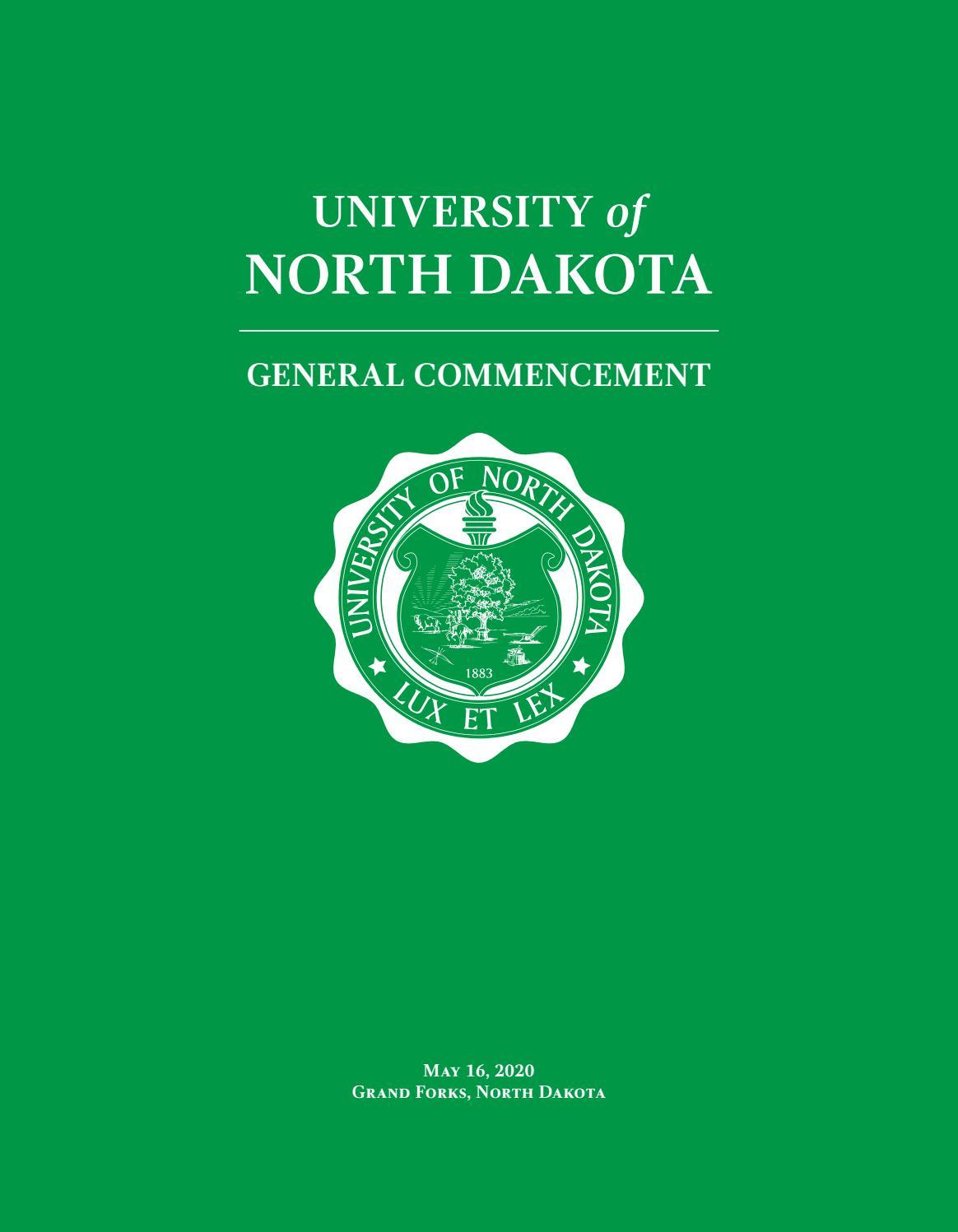 University Of North Dakota Spring 2020 Commencement By University Of North Dakota Issuu Find gifs with the latest and newest hashtags! university of north dakota spring