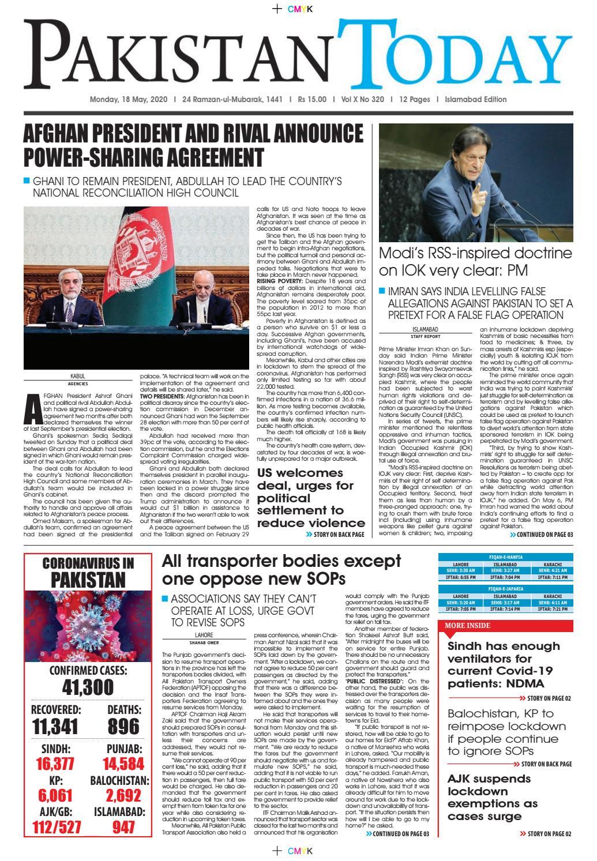 Epaperisb 2020 05 18 By Pakistan Today Issuu
