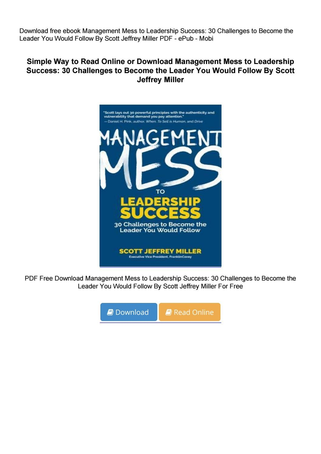 all the leader you can be pdf free download