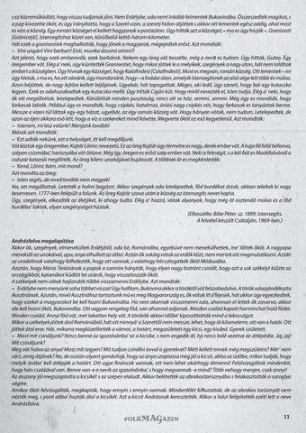 Page 11 of A TÖRTÉNELEM ORSZÁGÚTJÁN Így beszélték az öregek Kóka Rozália sorozata