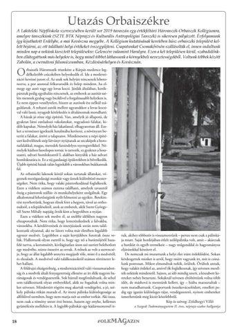Page 18 of Utazás Orbaiszékre