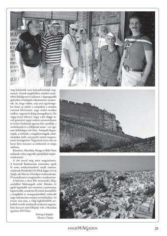 Page 23 of Muzsikások, langák, manganijárok