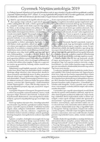 Page 24 of Gyermek Néptáncantológia 2019