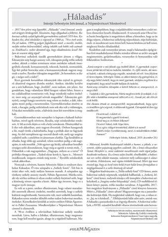 Page 32 of Interjú Sebestyén Istvánnal