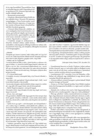 Page 33 of Interjú Sebestyén Istvánnal