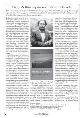 Page 34 of Nagy Zoltán népmesekutató emlékezete