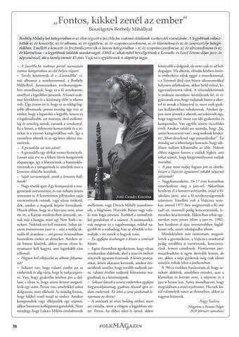 Page 38 of Beszélgetés Borbély Mihállyal