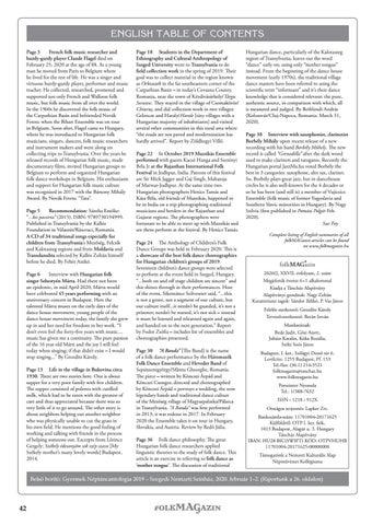 Page 42 of Sue Foy angol nyelvű ismertetője