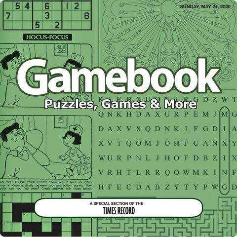 Book Of Puzzles May 2020 By Times Record Issuu