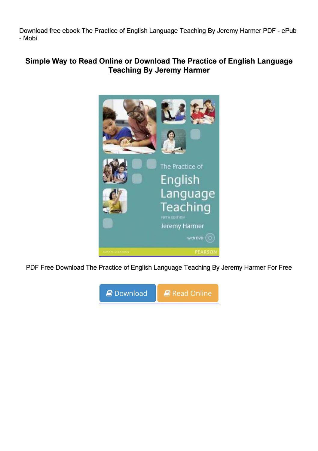 the practice of english language teaching 4th edition pdf free