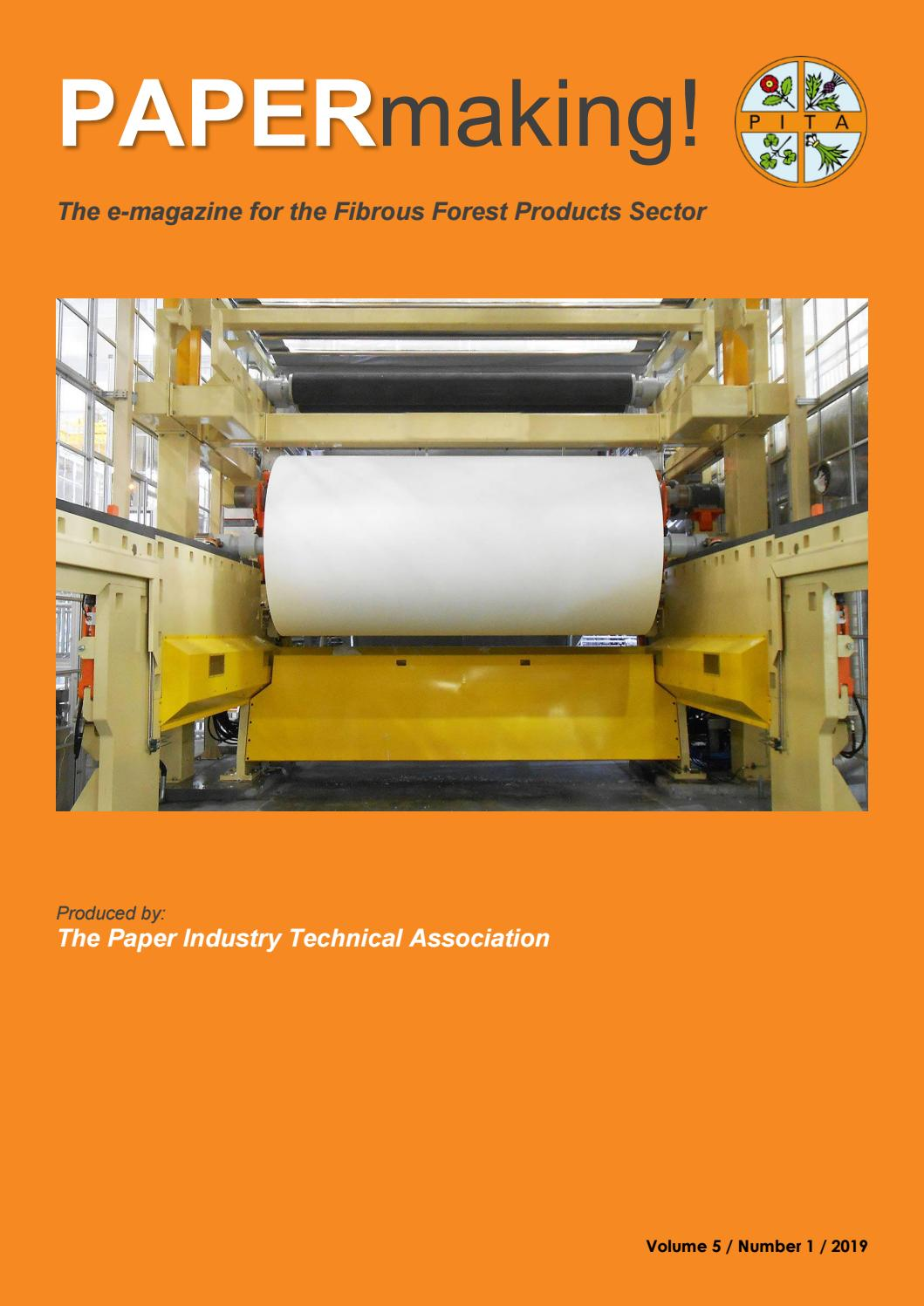 Papermaking Vol 5 No 1 2019 By Pita Co Uk Issuu
