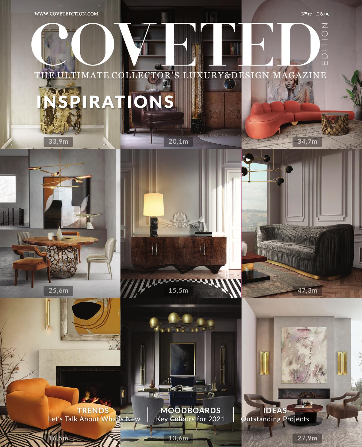 Coveted Magazine 17th By Brabbu Design Forces Issuu
