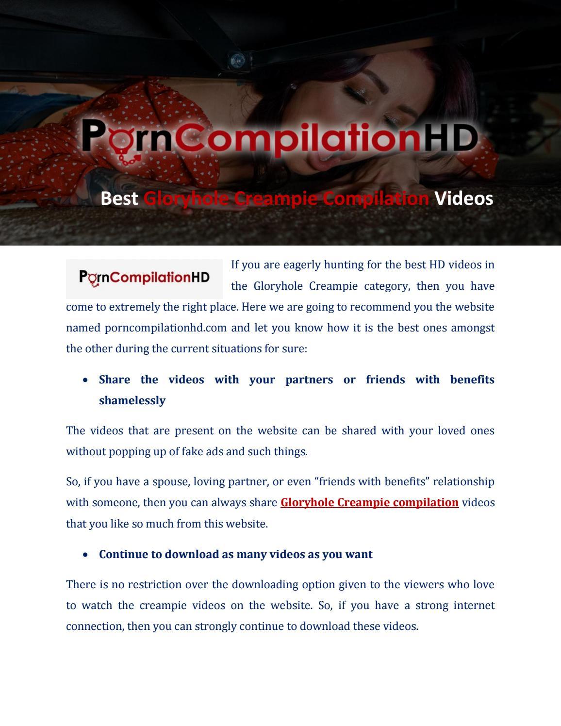 Best Gloryhole Creampie Compilation Videos