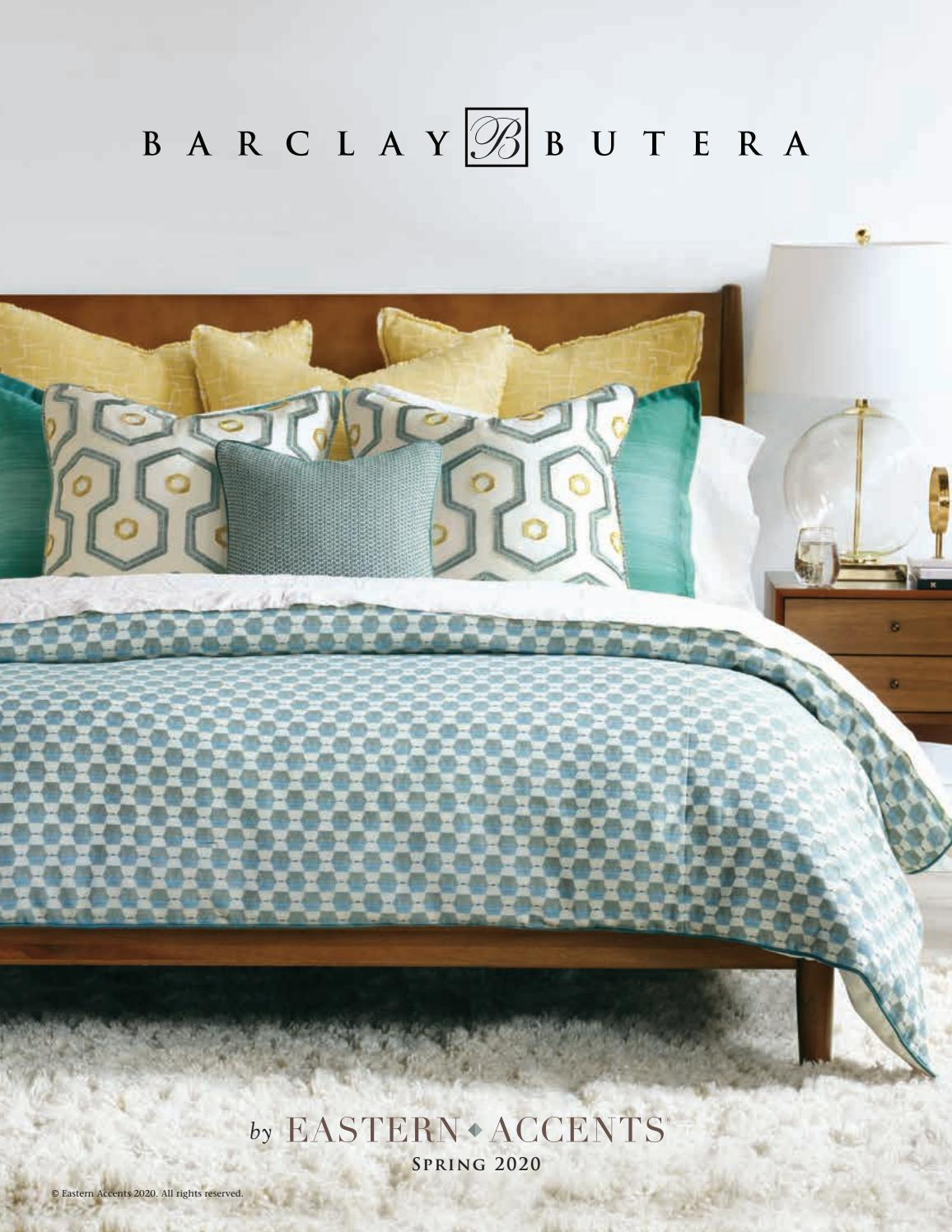 Barclay Butera Lifestyle Bedding By Eastern Accents Issuu