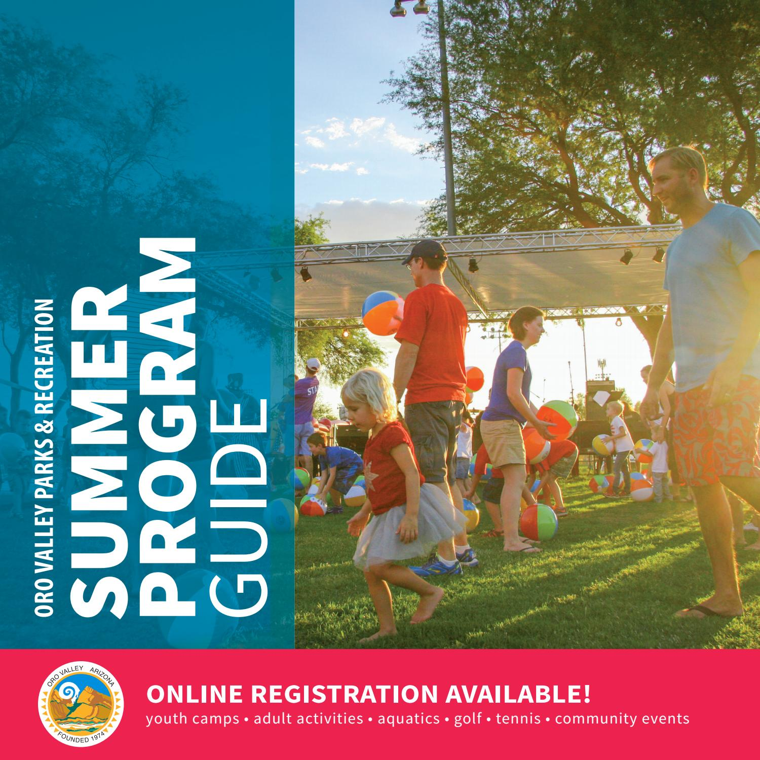 Town Of Oro Valley Parks And Recreation Guide Summer2020 By Oro Valley Issuu Top arizona nature & wildlife areas: issuu