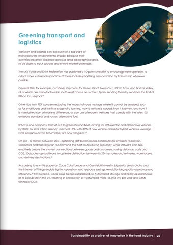 Page 25 of Greening transport and logistics