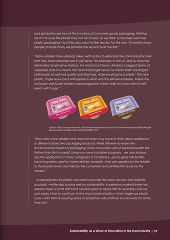 Page 27 of Is consumers' perception of sustainability shifting as a result of the Covid-19 outbreak?