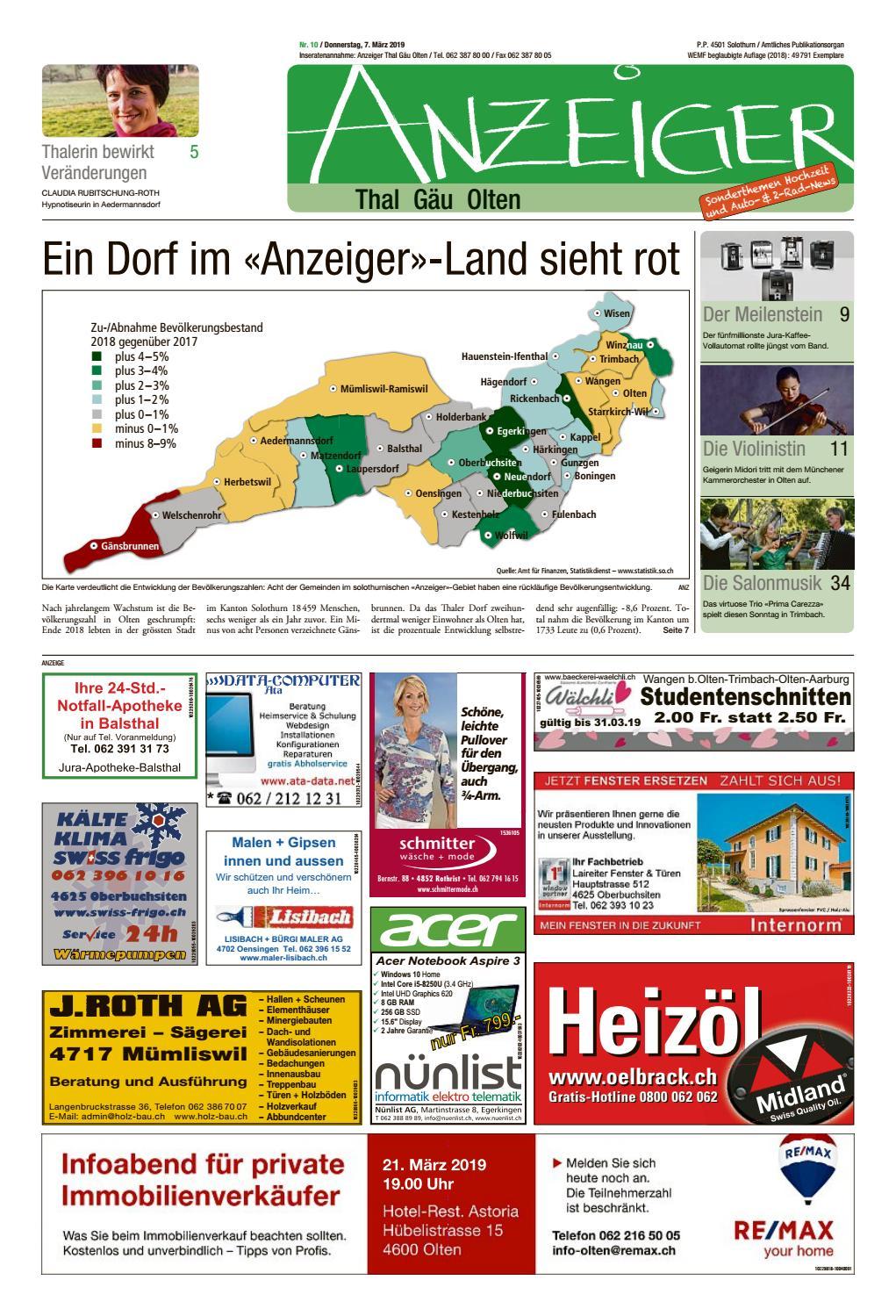 Die Gasleitung rutscht zum Waldrand fr Singlehaus - Thal