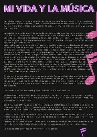 La Música En Mi Vida By Brenda Lizeth Trujillo Díaz Issuu