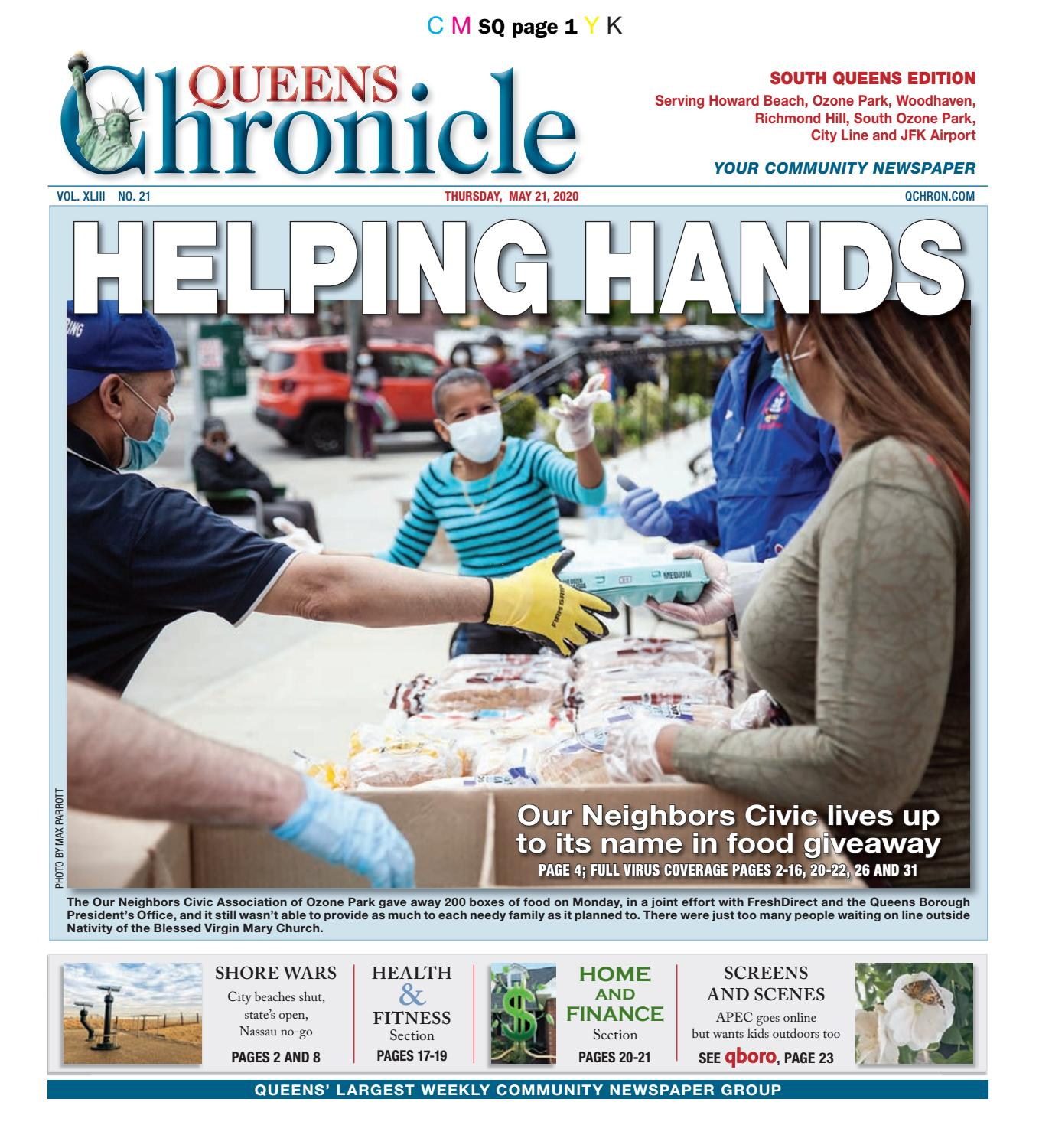 Queens Chronicle South Edition 05 21 20 By Queens Chronicle Issuu