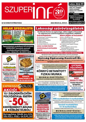 prosztata szűrés nyíregyháza)