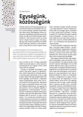 Page 7 of Egységünk, közösségünk