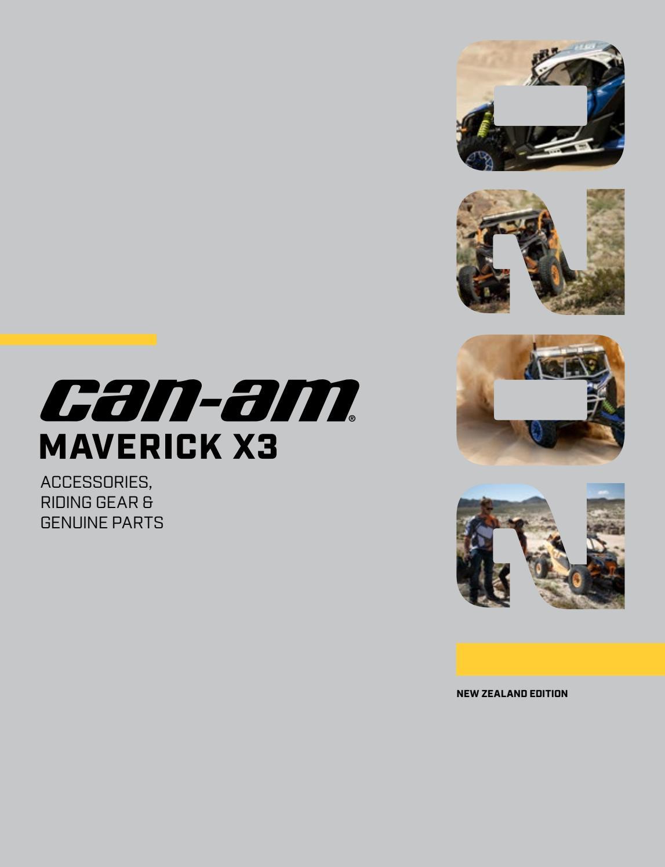 Black Side View Mirror Racing Set 2017-2018 Can-Am Maverick X3 R Max 715002898
