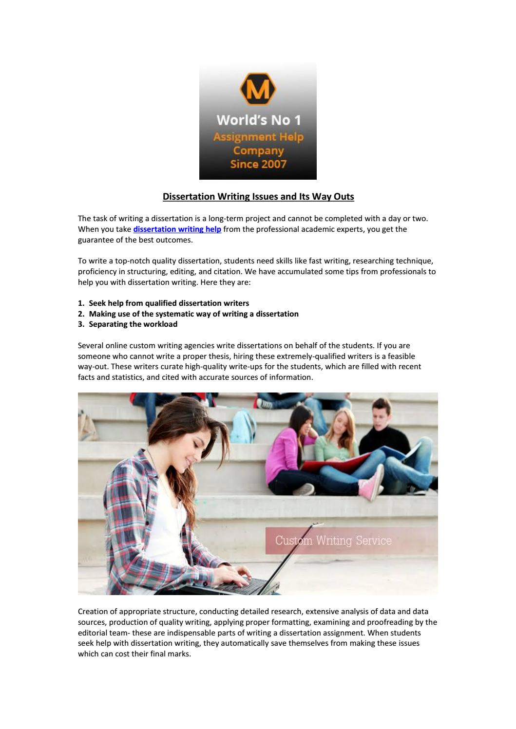 custom dissertation editing for hire online