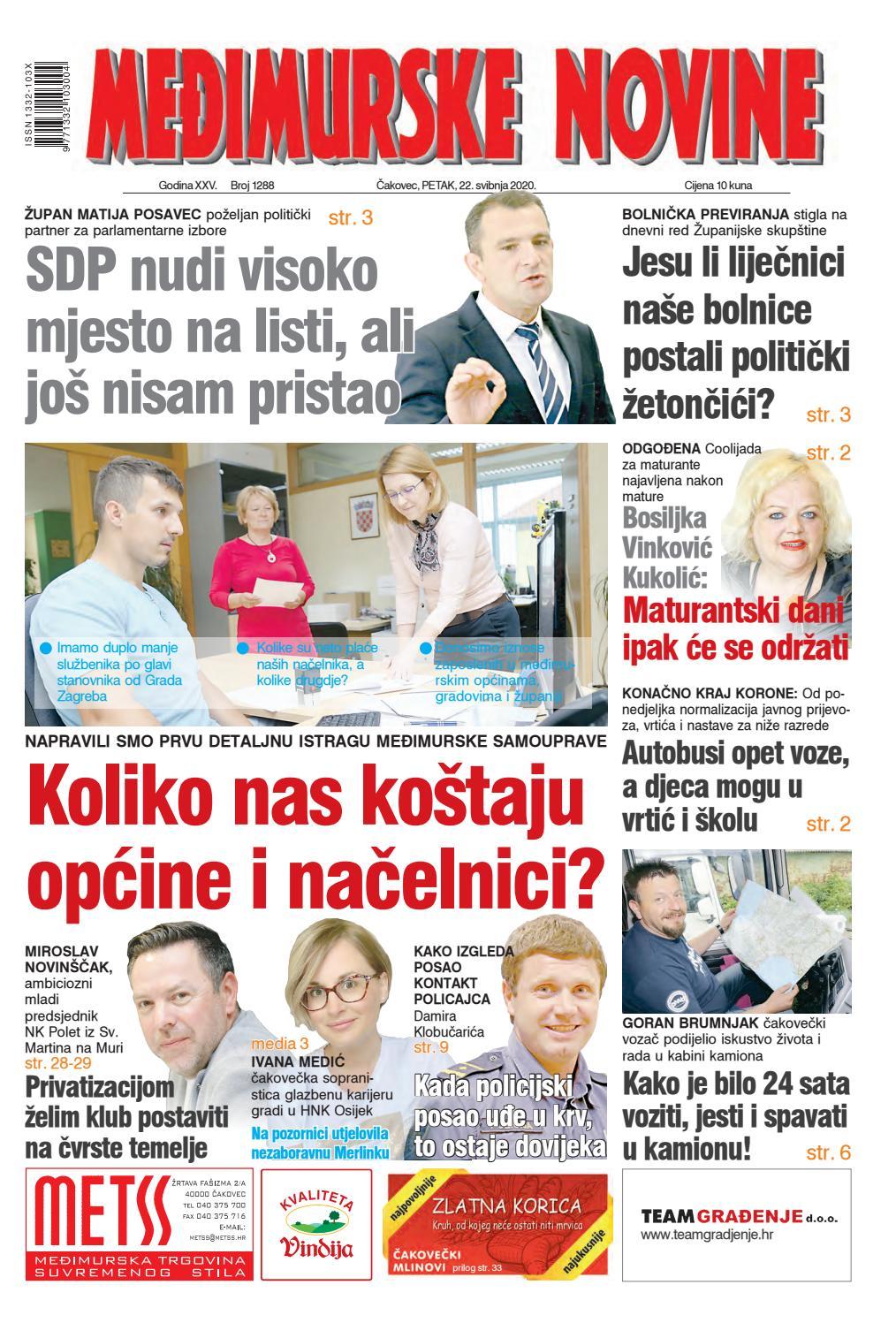 Međimurske novine 1288 by Međimurske novine - www.mnovine