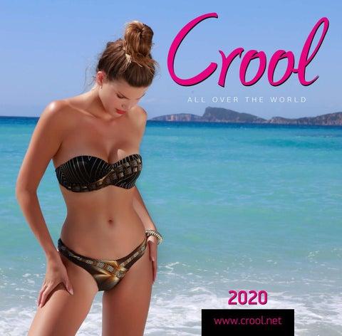 Crool Swimwear. Κατάλογος «Collection 2020» με γυναικεία μαγιό