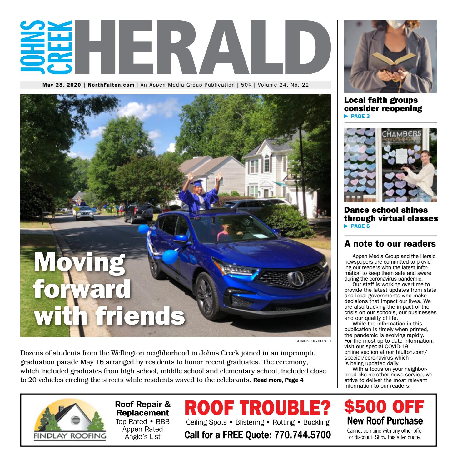 Johns Creek Herald May 28 2020 By Appen Media Group Issuu