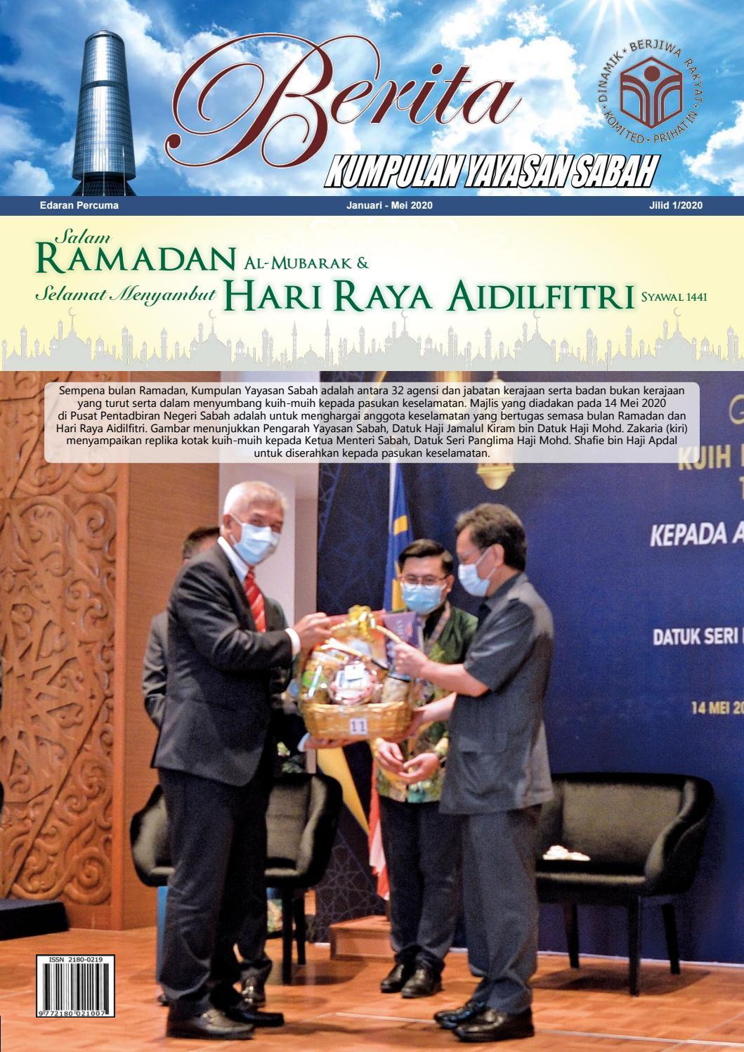 Berita Kumpulan Yayasan Sabah Vol 1 2020 By Yayasan Sabah Group Issuu