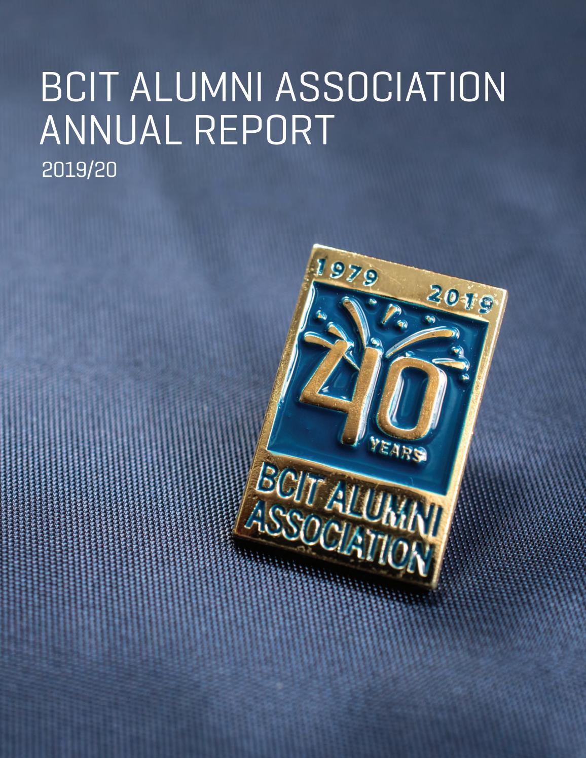2019 20 Bcit Alumni Association Annual Report By Bcit Issuu