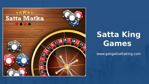 Satta King online live result with 100% granted by Satta King - issuu