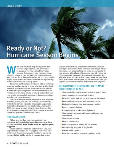 Page 6 of Ready or Not? Hurricane Season Begins