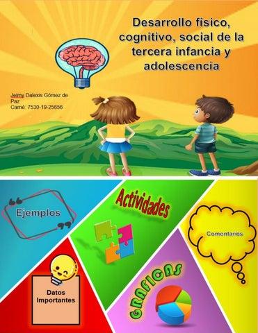 Desarrollo Fisico Cognitivo Social De La Tercera Infancia Y Adolescencia By Jgomezd10 Issuu