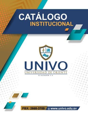 Catálogo Institucional 2019 By Alexguardado Issuu