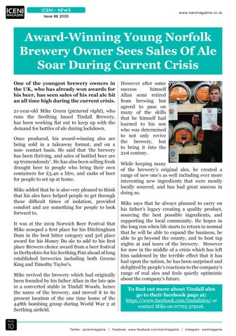 Page 10 of Iceni News Award-Winning
