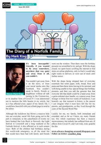 Page 12 of Iceni Columnist Mark King