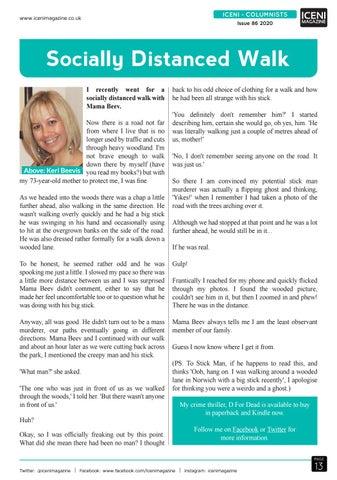 Page 13 of Iceni Columnist Keri Beevis